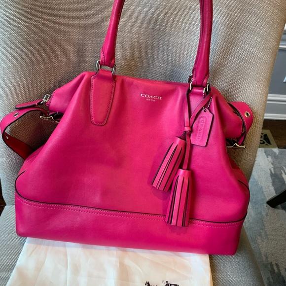 Coach Handbags - Coach Legacy Pink Leather Bag 3a01f15651086